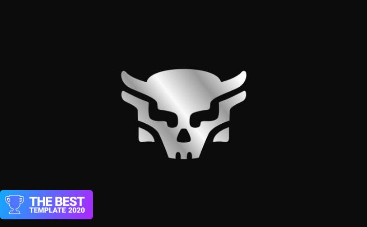 Skull Logo Template.