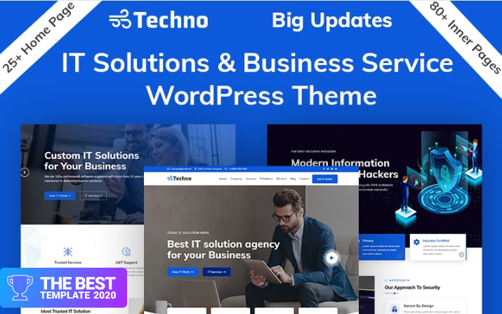 Techno Business Consulting WordPress Theme - best digital products