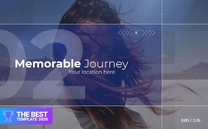 Travel Timeline Premiere Pro Template best digital products