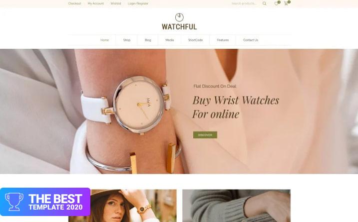 Watchful - Multipurpose WooCommerce Theme.