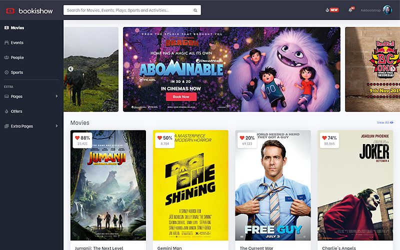 bookishow-movies-events-sports-website-templat