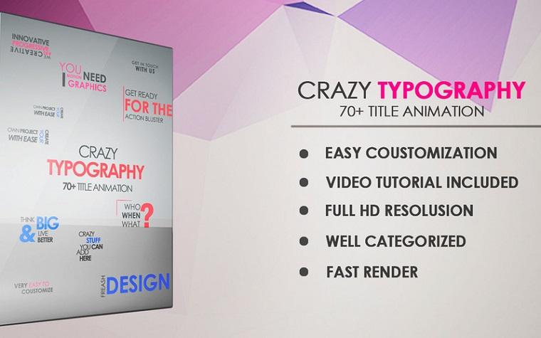 Crazy typography