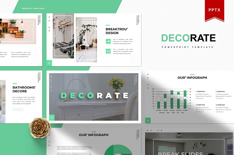 Decorate PowerPoint Template