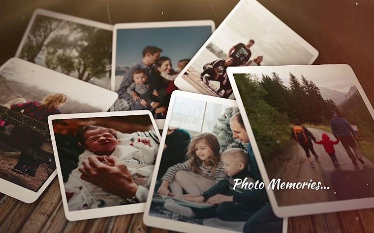 Photo Memories Elegant Portfolio Final Cut Pro Template