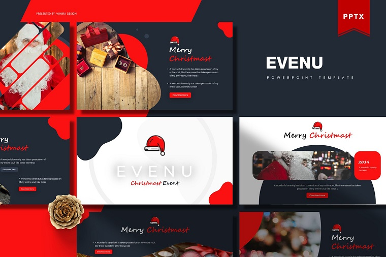 Evenue Christmas PowerPoint Template