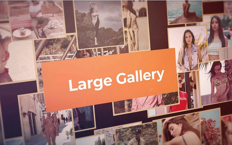 Attention-Grabbing Gallery After Effects Template