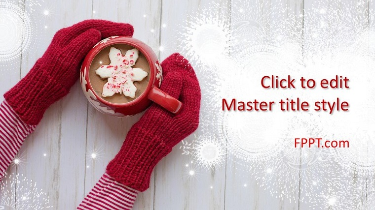 Cold Winter Free PowerPoint Template