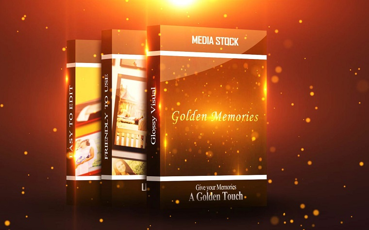 Golden Memories Classy After Effects Template