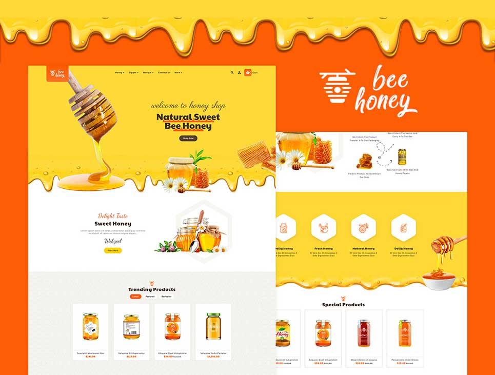honey-opencart-responsive-theme