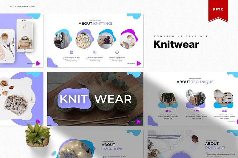 Knitwear PowerPoint Template