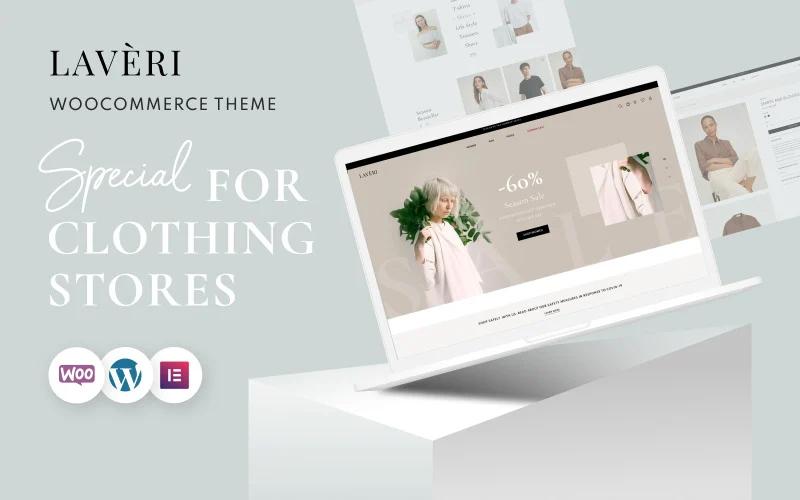 Clothing Store WooCommerce WordPress Theme - Laveri