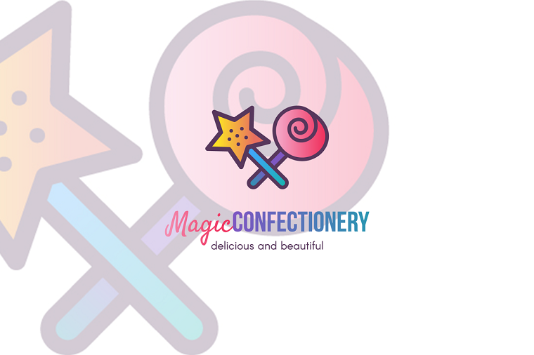 Magic Sweets & Confectionery Logo Template