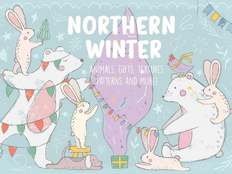 Northern Winter Collection Illustration