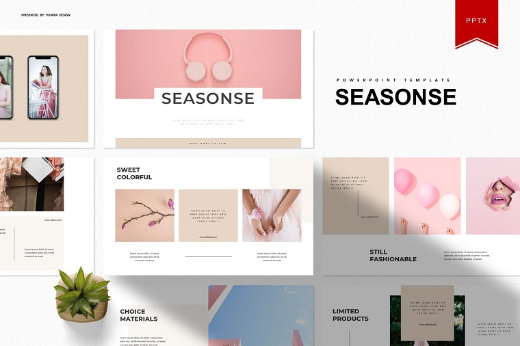 Seasonse PowerPoint Template