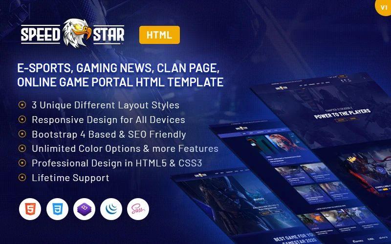 speedstar-esports-gaming-html-website-template