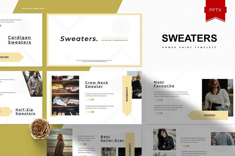 Sweaters PowerPoint Template