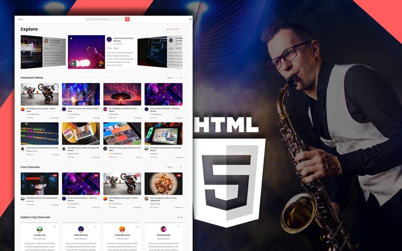 vidlife-video-sharing-html-website-template