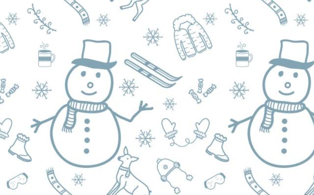 Cozy Winter Ornament Pattern