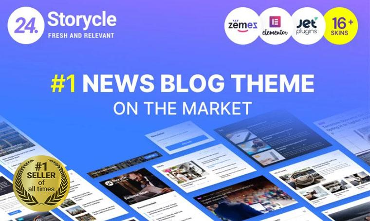 24.Storycle News WordPress Theme