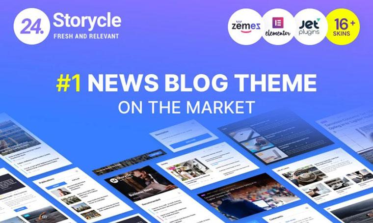 24.Storycle Elementor WordPress Theme