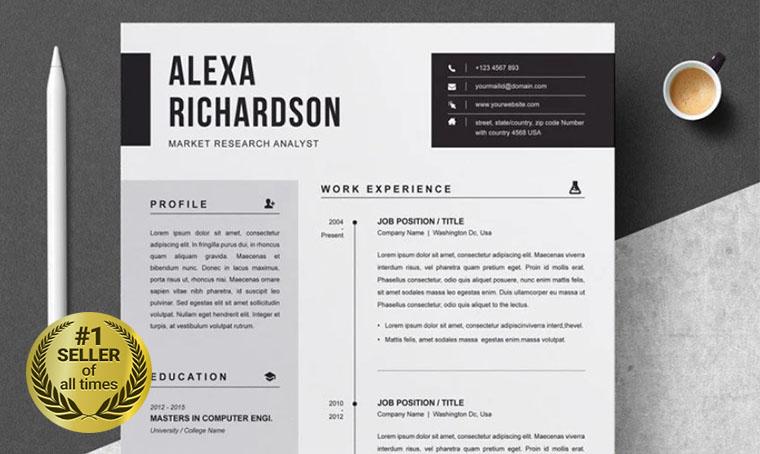 Alexa Resume digital bestseller