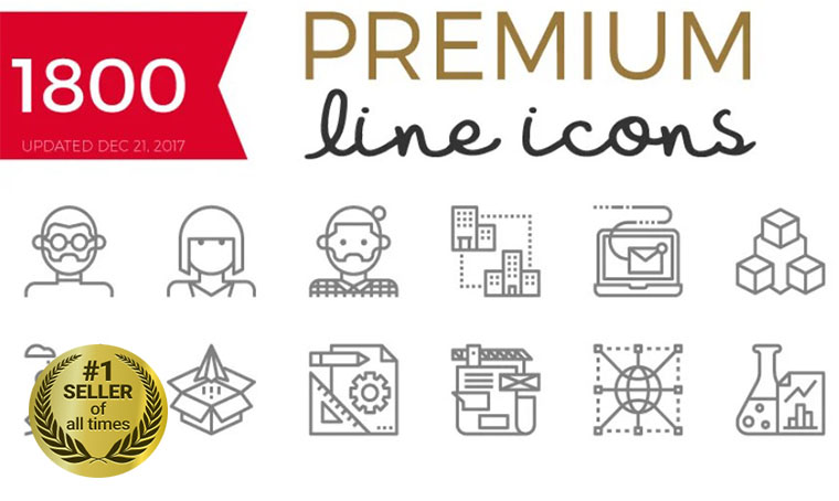 Becris Icon Set digital bestseller