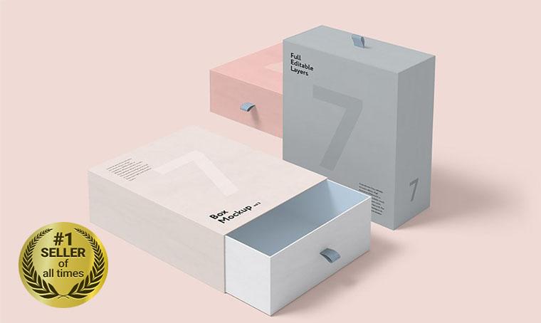 Box Set Product Mockup digital bestseller