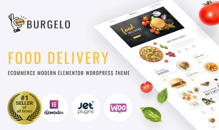 Burgelo Food Delivery WooCommerce bestseller