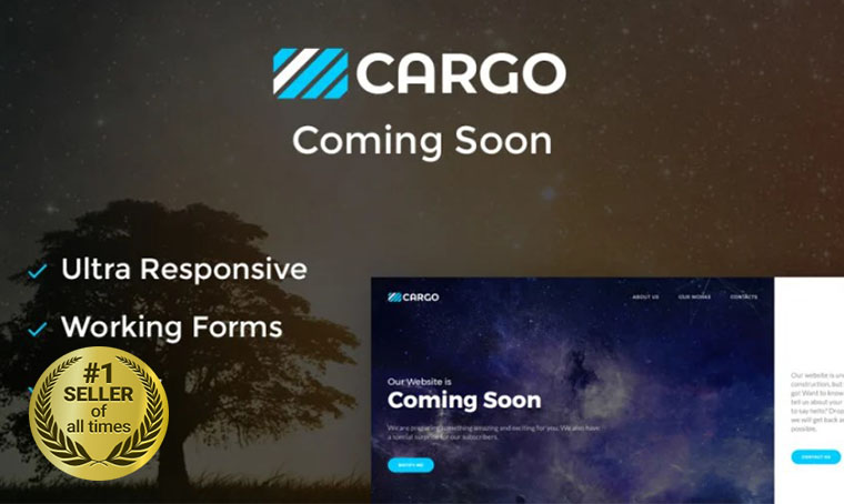 Cargo Coming Soon Specialty Page