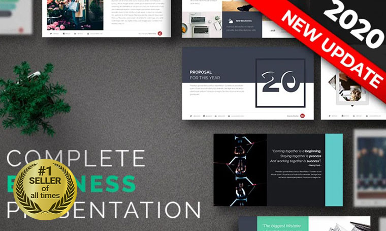 Complete PowerPoint template