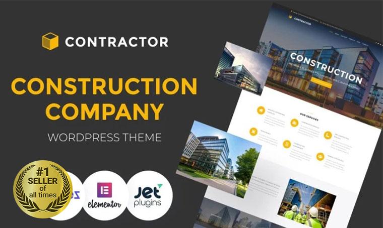 Contractor Architecture WordPress digital bestseller