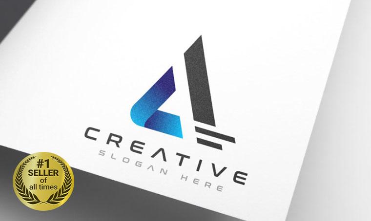 Creative Brand A Logo Template