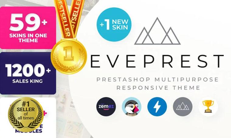 Eveprest PrestaShop Digital Bestseller