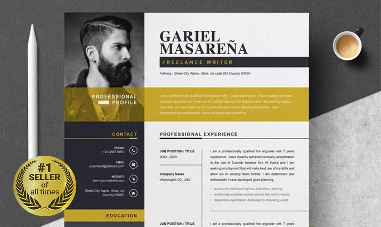 Gariel Masarena Resume digital bestseller