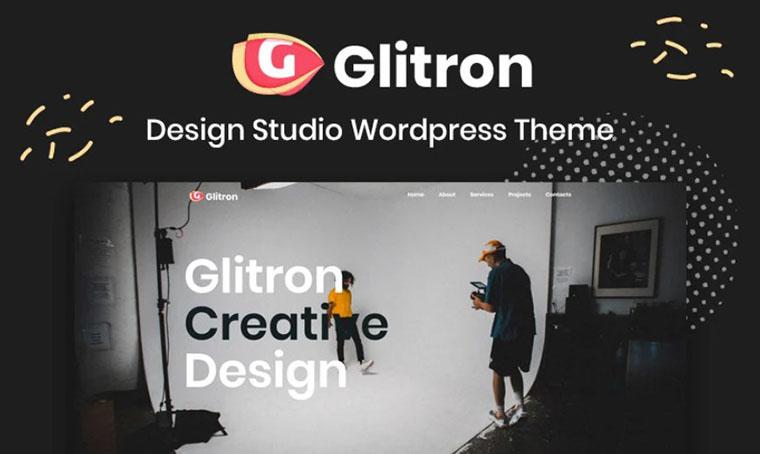 Giltron - Design Studio WordPress Template