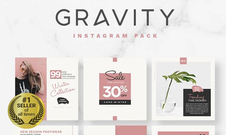 Gravity Social Media digital bestseller
