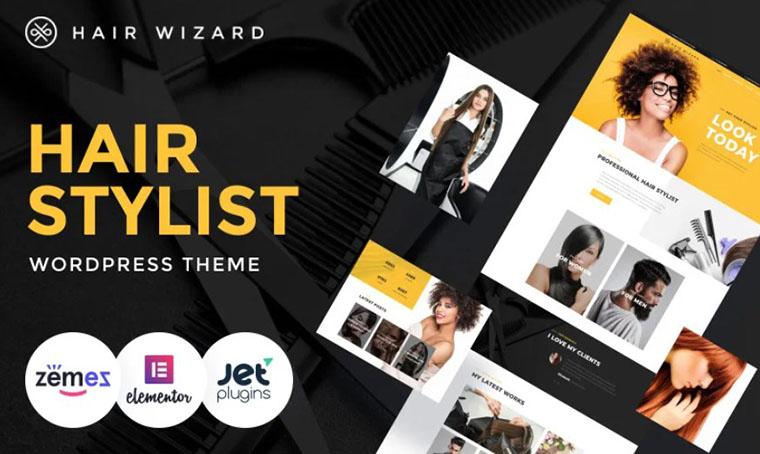 Hair Wizard - Fashion WordPress theme