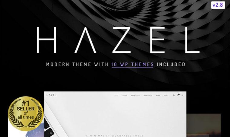Hazel WordPress digital bestseller