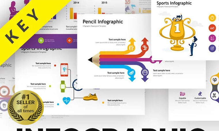 Infographic Asset Keynote template