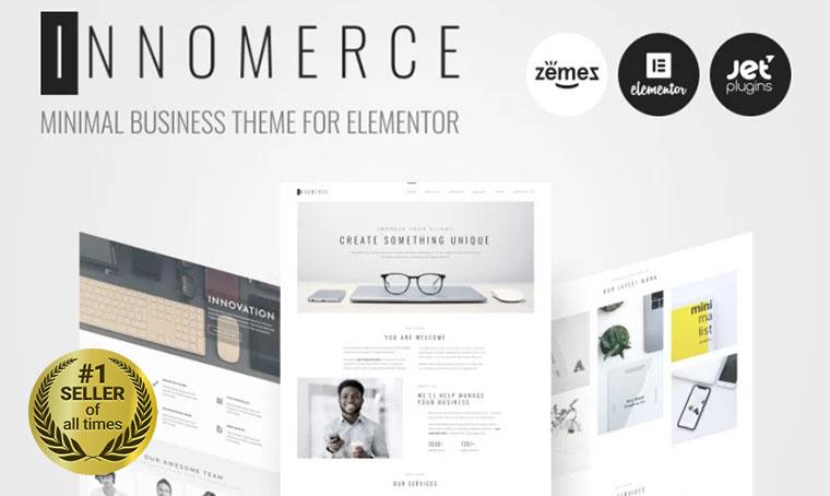 Innomerce WordPress digital bestseller