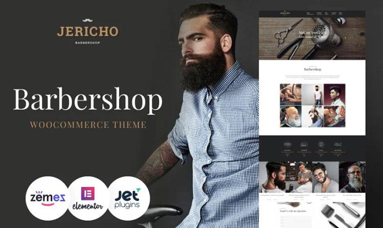 Jericho - WordPress Barbershop template