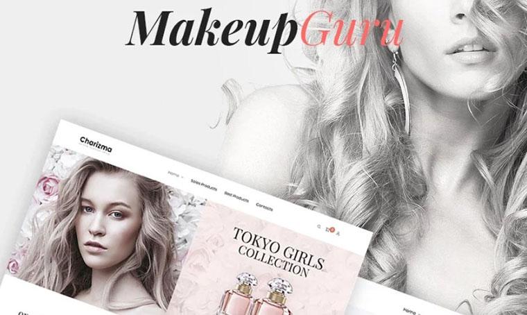 MakeupGuru WooCommerce fashion theme