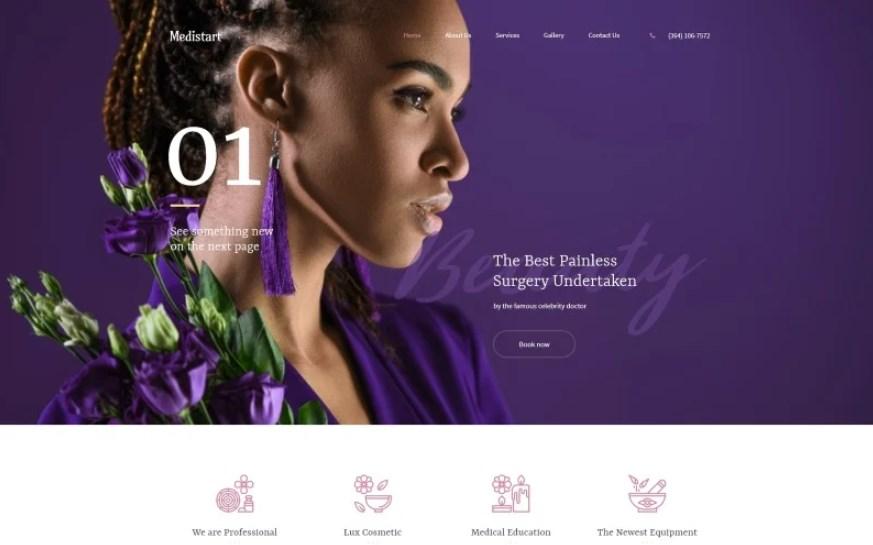 Medistart - Spa Salon WordPress theme