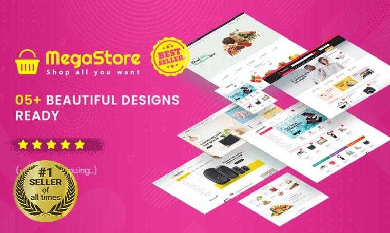 MegaStore OpenCart template