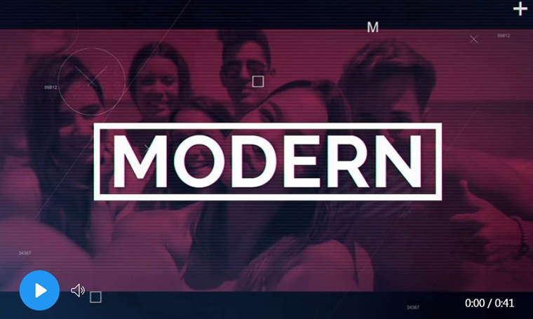 Modern - After Effects template for montage