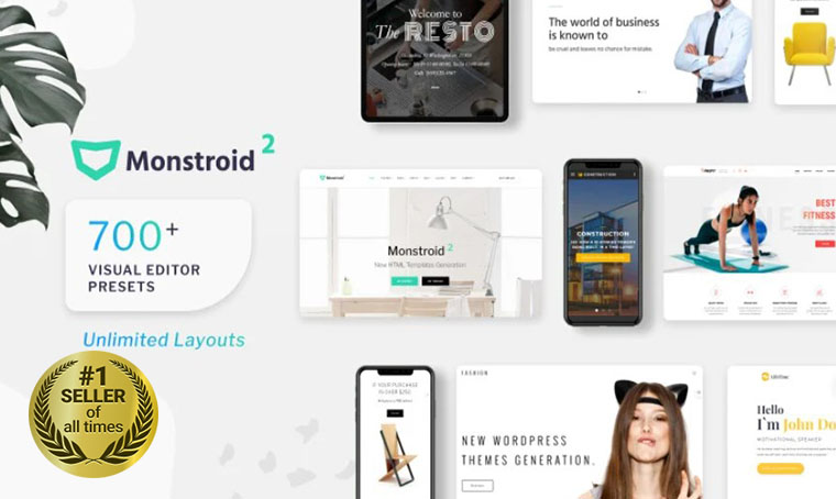 Monstroid2 HTML template