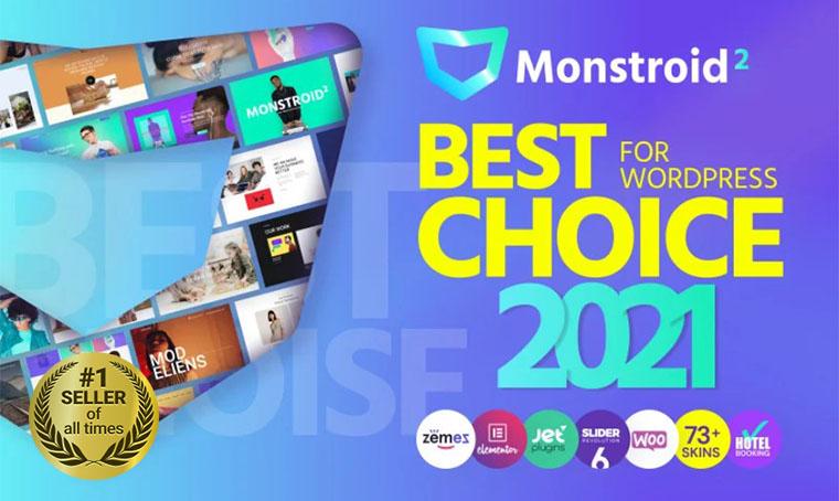 Monstroid2 WordPress Theme