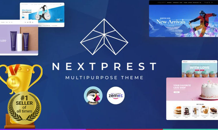 Nextprest PrestaShop Digital Bestseller