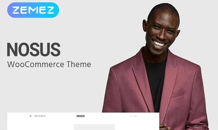 Nosus - Elementor WooCommerce fashion theme