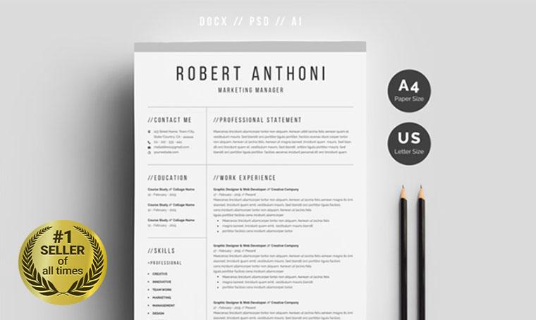 Robert Anthoni Resume digital bestseller